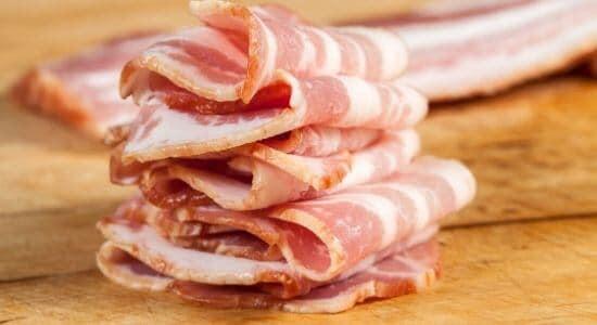 bacon minnow bait